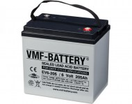 VMF T105 Deep Cycle AGM accu 205Ah 6 volt
